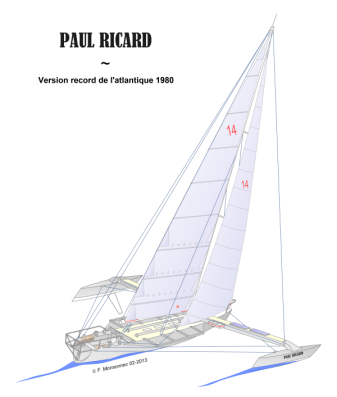 Paul Ricard version record de l'atlantique 1980 – F Monsonnec 03-2013
