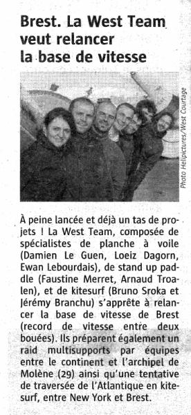Le Télégramme 04-03-14