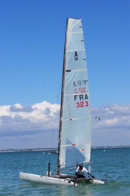 Bob Fisher en class A – photo F. Monsonnec