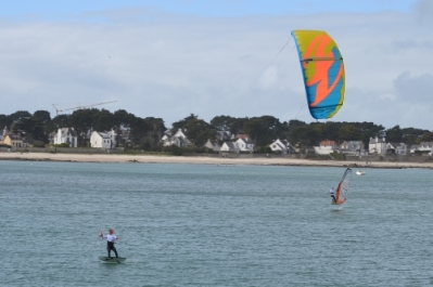 Kitefoil et Windfoil – photo B. Gahagnon